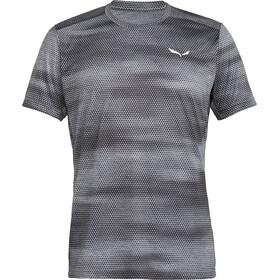 Salewa Puez Graphic 2 Dry Shortsleeve Shirt Men grey